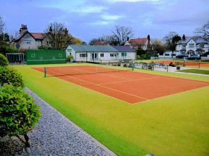 Club House and Courts web