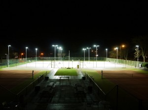 Floodlit courts web