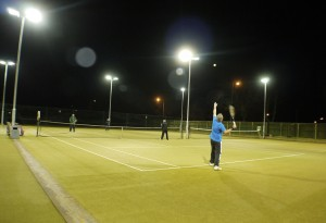 Floodlit game web