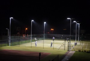 Single Floodlit game web